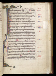 Illuminated Initial, In A Composite Volume Of Texts, Many Relating To Monastic Life f.36r
